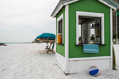 Photograph - Beach Hut by Jeff Mize