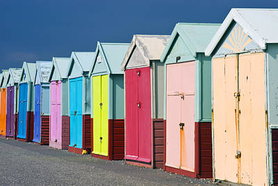 Photograph - Beach Huts by Mick House