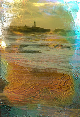 Photograph - Beach Lighthouse by Dale Stillman