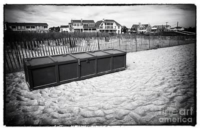 Photograph - Beach Locker by John Rizzuto