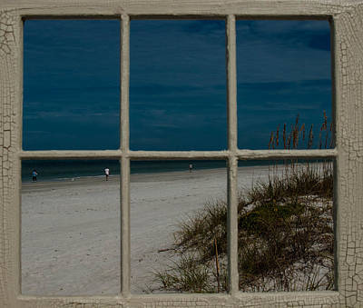 Photograph - Beach Lookout by Randy Sylvia