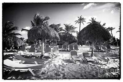 Photograph - Beach Lounges by John Rizzuto