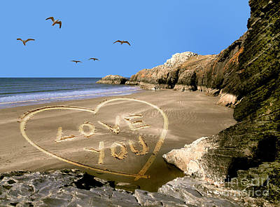 Photograph - Beach Love by Russ Murry