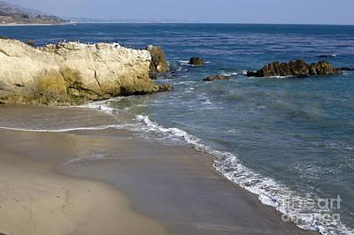 Malibu Photograph - Beach Malibu by David Millenheft