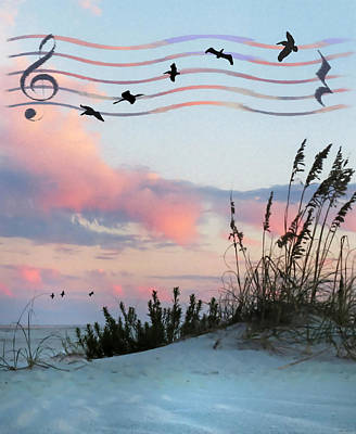 Photograph - Beach Music by Deborah Smith