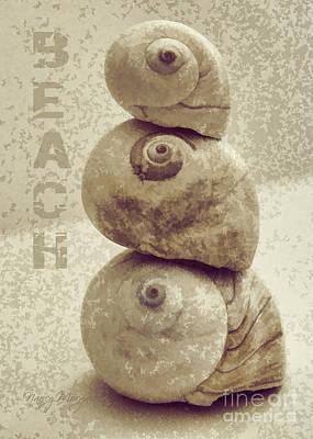 Digital Art - Beach by Nancy Morgantini