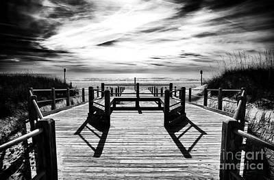 Photograph - Beach Noir by John Rizzuto