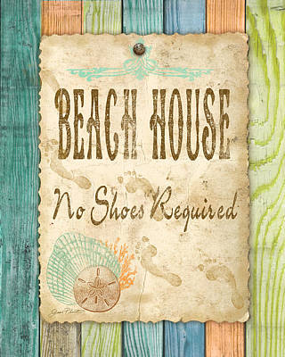 Beach Notes-d Original by Jean Plout