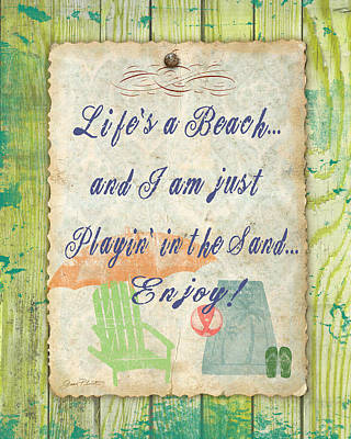 Beach Notes-e Original by Jean Plout