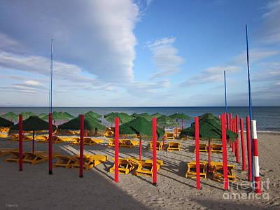 Photograph - Beach In Roquetas De Mar by Chani Demuijlder