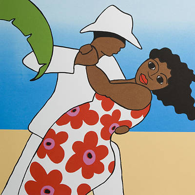 Beach Party Print by Trudie Canwood