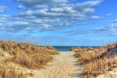 Photograph - Beach Pathway by Kathy Baccari
