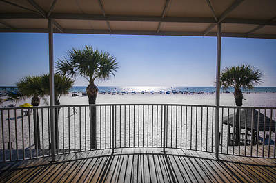 Photograph - Beach Patio by Carolyn Marshall