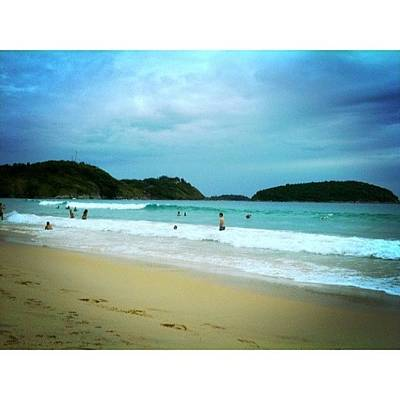 Beautiful Photograph - #beach #phuket #thailand #naiharn by Georgia Fowler