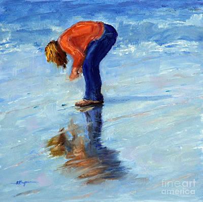 Painting - Beach Pick Up by Shelley Koopmann