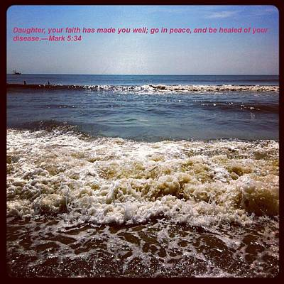 Beach Picture With Quote Original by Marian Palucci-Lonzetta