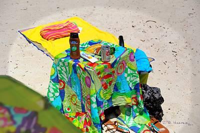 Photograph - Beach Prep 101 by R B Harper