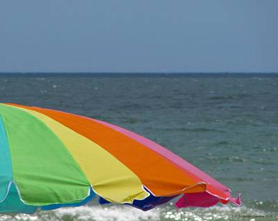 Photograph - Beach Rainbow by Jennie  Richards