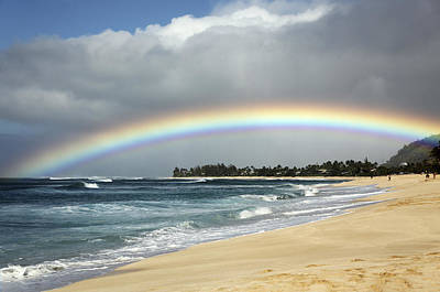 Photograph - Beach Rainbow by Vince Cavataio - Printscapes