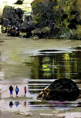 Photograph - Beach Reflection by Dale Stillman