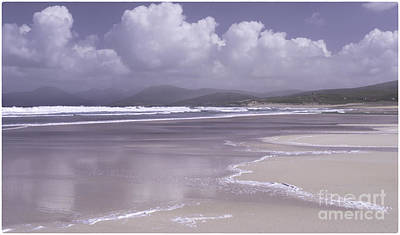 Photograph - Beach Reflections Luskentyre by George Hodlin