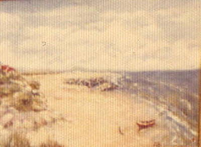 Painting - Beach Scape by Walter Casaravilla