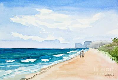 Painting - Beach Secrets by Michelle Constantine