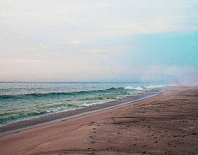 Beach Sentry Art Print
