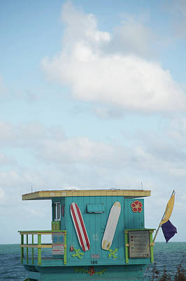 Us State Photograph - Beach Shack by Aaron Mccoy