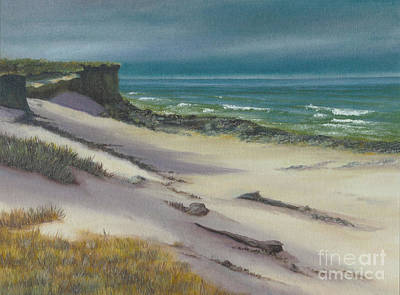 Painting - Beach Shadows by Jeanette French