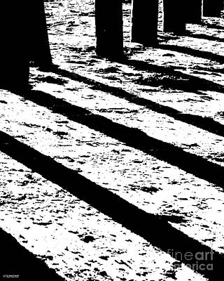 Photograph - Beach Shadows by Lizi Beard-Ward