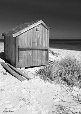 Photograph - Beach Shed by Michelle Wiarda