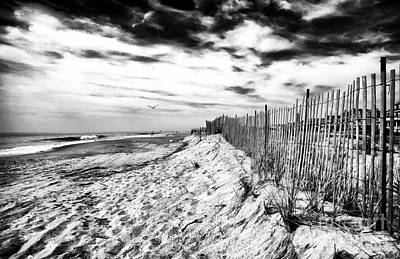 Photograph - Beach Side Cape May by John Rizzuto