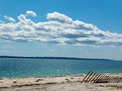 Photograph - Beach Side by Heather Sylvia