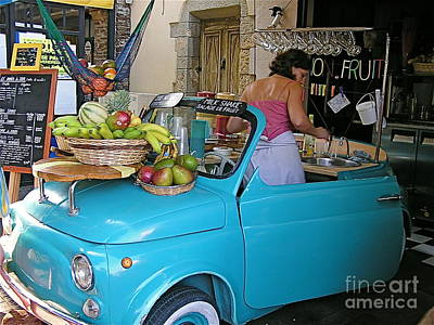 South Of France Photograph - Euro Beachfront Shake   by France  Art