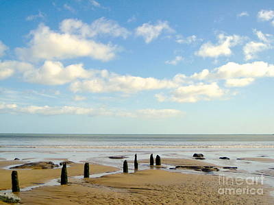 Photograph - Beach Skies by Suzanne Oesterling