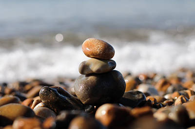 Beach Stones Art Print by Ivelin Donchev