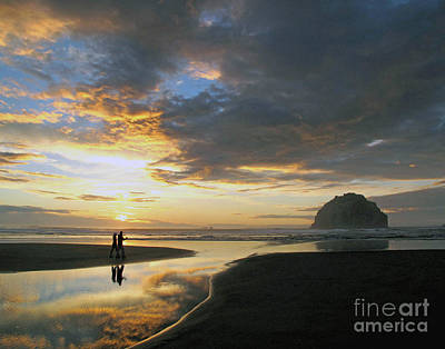 Photograph - Bandon Beach Stroll by Suzy Piatt
