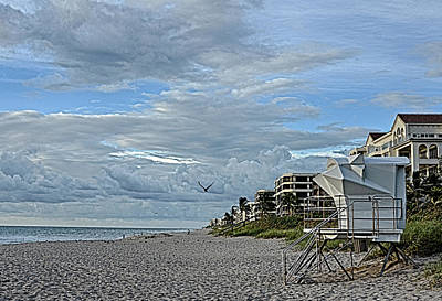 Photograph - Beach Structures by Don Durfee