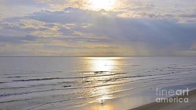 Photograph - Beach Sunrise by Carol  Bradley
