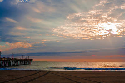 Photograph - Beach Sunrise Surprise by Dawn Romine