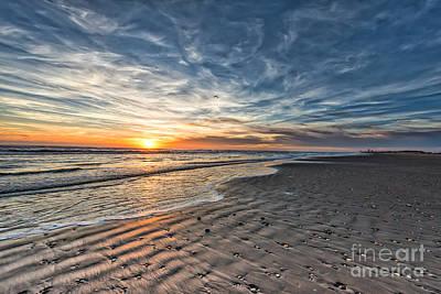 Beach Landscape Photograph - Beach Sunrise by Tod and Cynthia Grubbs