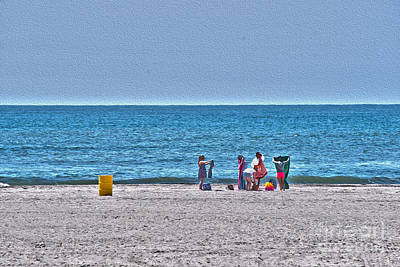 Photograph - Beach Time - Atlantic Ocean by Crystal Harman