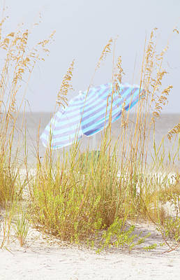 Beach Time Art Print by Kim Hojnacki