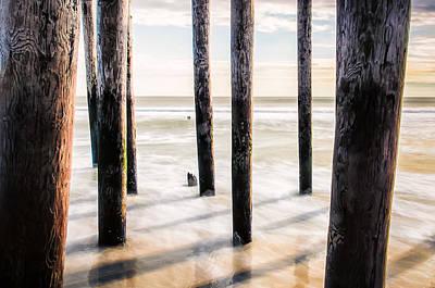 Beach Totems Art Print
