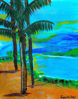 Painting - Beach  By Janelle Dey by Janelle Dey