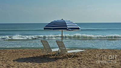 Photograph - Beach Umbrella by Bob Sample