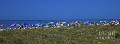 Photograph - Beach Umbrellas by Amazing Jules