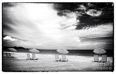 Photograph - Beach Umbrellas At Red Frog by John Rizzuto