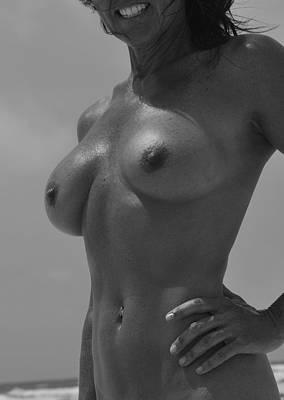 Nude Photograph - Beach Vixen by Photo Advocate